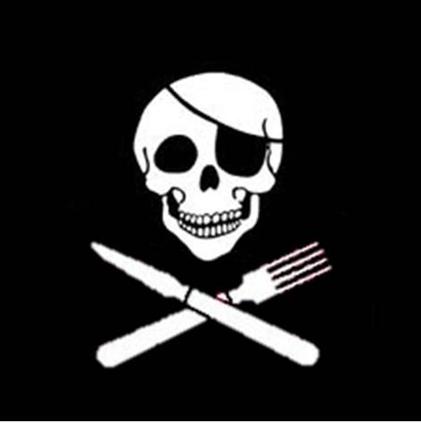 dontdigyourgravewithknivesandforks,pirate,healthyeating