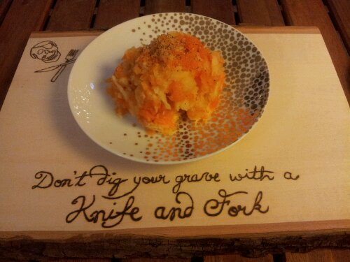Mashed Potato Replacement - Carrot and Parsnip Mash