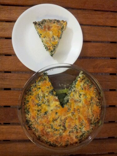Healthy Leek and Spinach Pie