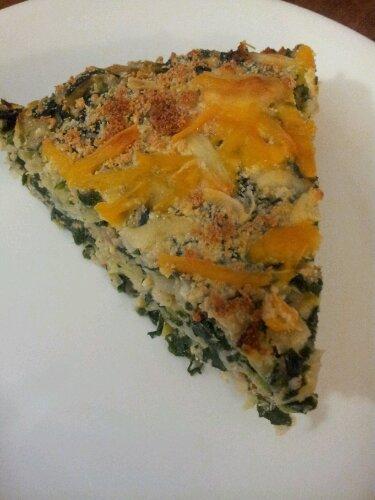 Nutritious Spinach and Leek Pie
