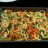 Spiralized Veggie Bake