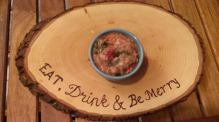 Red Lentil, Sweet Potato & Chard Soup